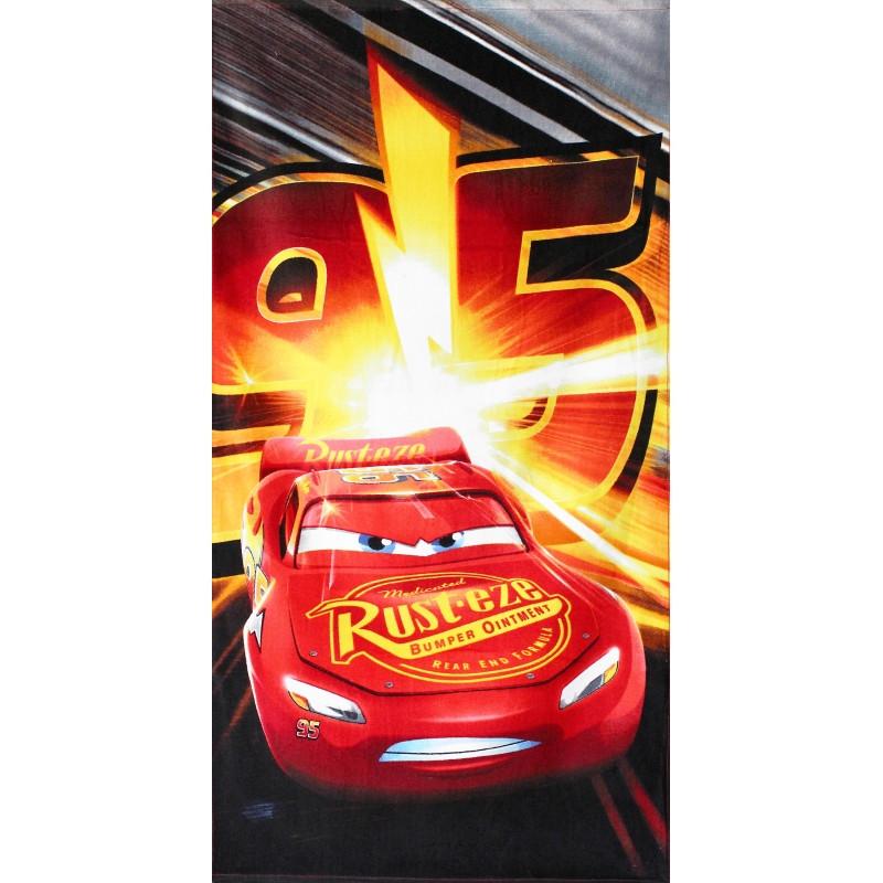 Osuška Blesk McQueen / Cars / Auta Racing / vecizfilmu