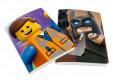 Sada 2 ks linkovaných A5 sešitů Lego / Batman / vecizfilmu