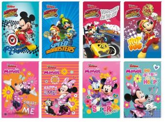 Notýsek / bloček Minnie Mouse / Mickey Mouse A7 / vecizfilmu