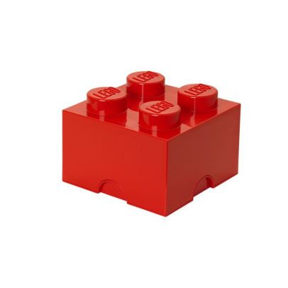 Úložný box Lego 25 x 25 x 18 cm / red