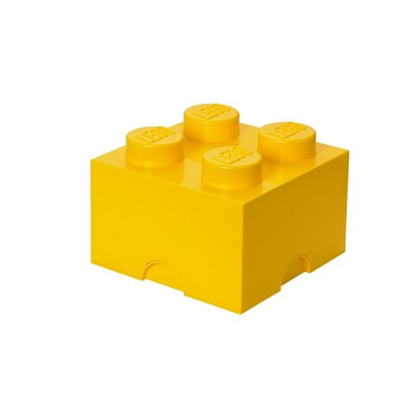 Úložný box Lego 25 x 25 x 18 cm / yellow