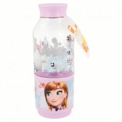 Láhev na vodu s kelímkem Anna a Elsa / Frozen