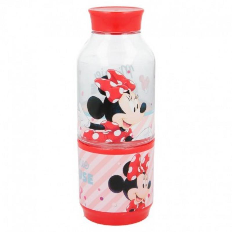 Láhev na vodu s kelímkem Myška Minnie / Minnie Mouse