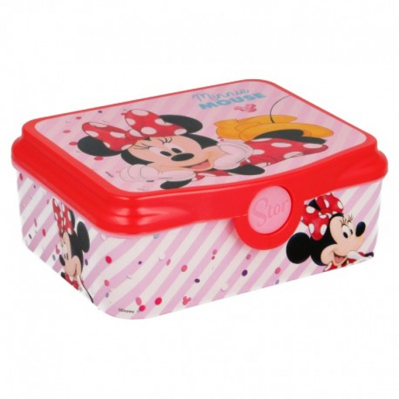Plastový lunch box Myška Minnie / Minnie Mouse