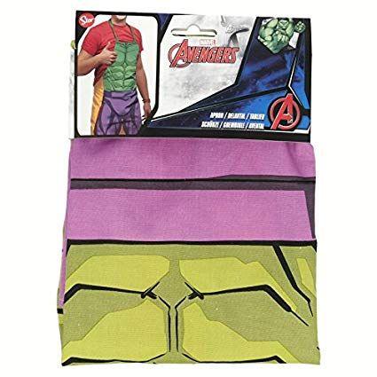 Dětská zástěra Avengers / Hulk