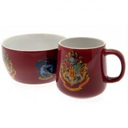 Sada keramického nádobí / hlubová miska s uchem a hrnek Harry Potter / vecizfilmu