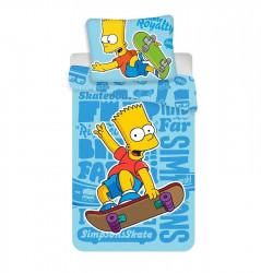 Povlečení Bart Simpson Skateboard 140 x 200 cm