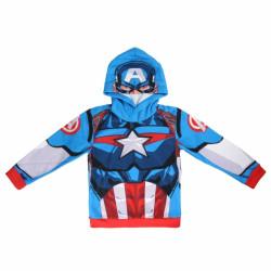 Mikina s kapucí Captain America / Kapitán Amerika