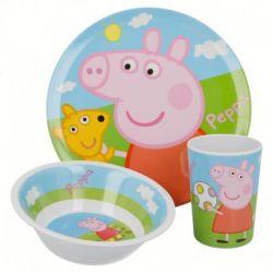 Nádobí Prasátko Peppa / Peppa Pig / talíř miska kelímek / vecizfilmu