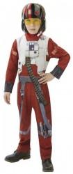 Karnevalový Kostým Star Wars Epizoda 7 X-Wing Fighter Pilot - Vel. M