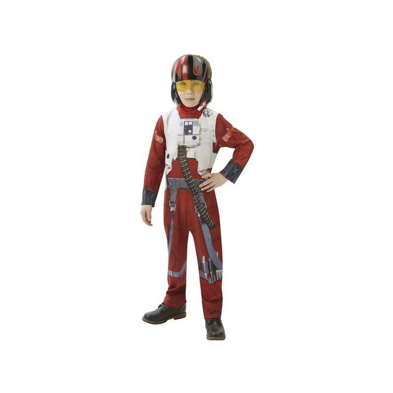 karnevalový kostým STAR WARS Epizoda 7 X-Wing Fighter Pilot - vel. L