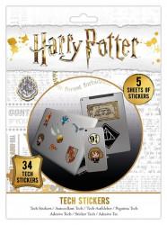 Sada 34 ks ozdobných samolepek Harry Potter