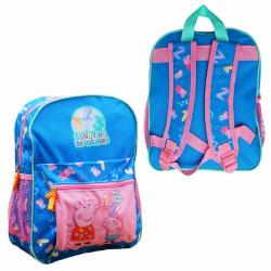 Dětský modrý batoh Prasátko Peppa / Peppa Pig Čísla