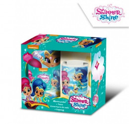 Hrnek a fleecová deka Shimmer and Shine