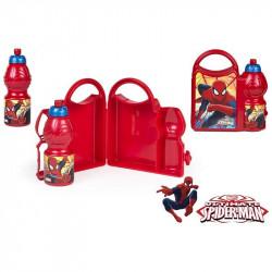Krabička na svačinu a láhev Spiderman / vecizfilmu