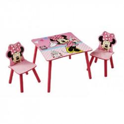 Stůl a 2 židle Minnie Mouse / vecizfilmu