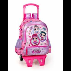 Školní batoh na kolečkách LOL Surprise / vecizfilmu