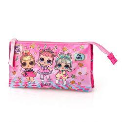 Penál / pouzdro LOL Surprise Pink