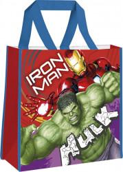 Nákupní taška Avengers Hulk / Iron Man / vecizfilmu