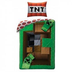 Povlečení Minecraft Creeper / vecizfilmu