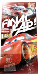 Osuška Cars Final / vecizfilmu