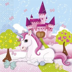 Papírové ubrousky Jednorožec / Unicorn