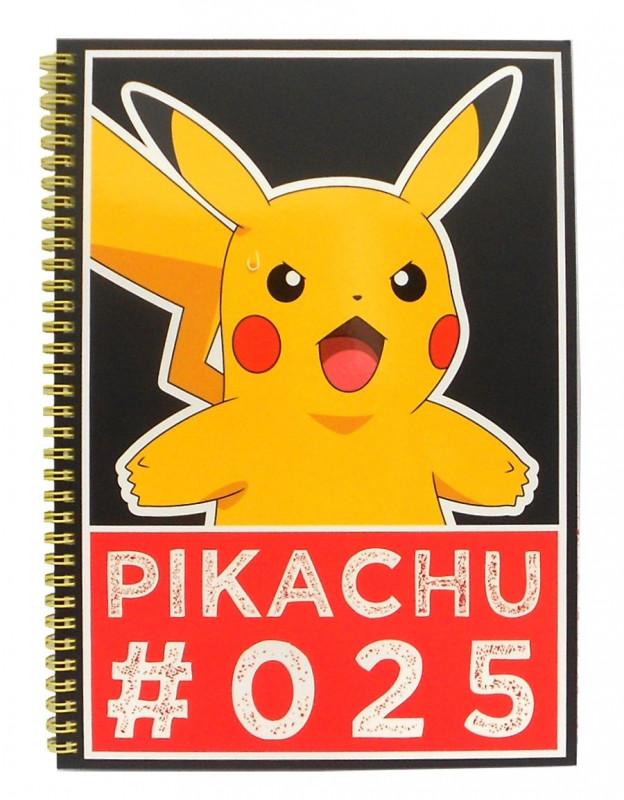 Linkovaný A4 notes Pokemon Streetwise / vecizfilmu
