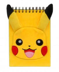 Plyšový notes Pikachu / Pokemon Streetwise