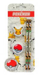 Tužky a gumy Pokemon Streetwise