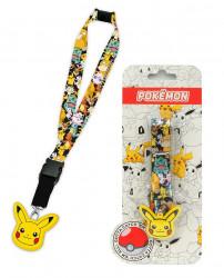 Šňůrka na klíče Pikachu / Pokemon Streetwise