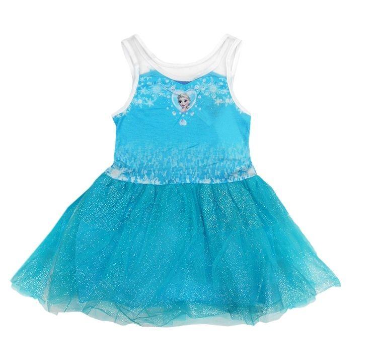 Šaty Frozen / Ledové Království 110 cm / vecizfilmu