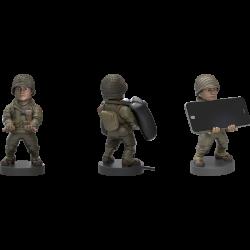 Držák na mobil / ovladač / USB nabíječka Call of Duty / WWII Private / vecizfilmu