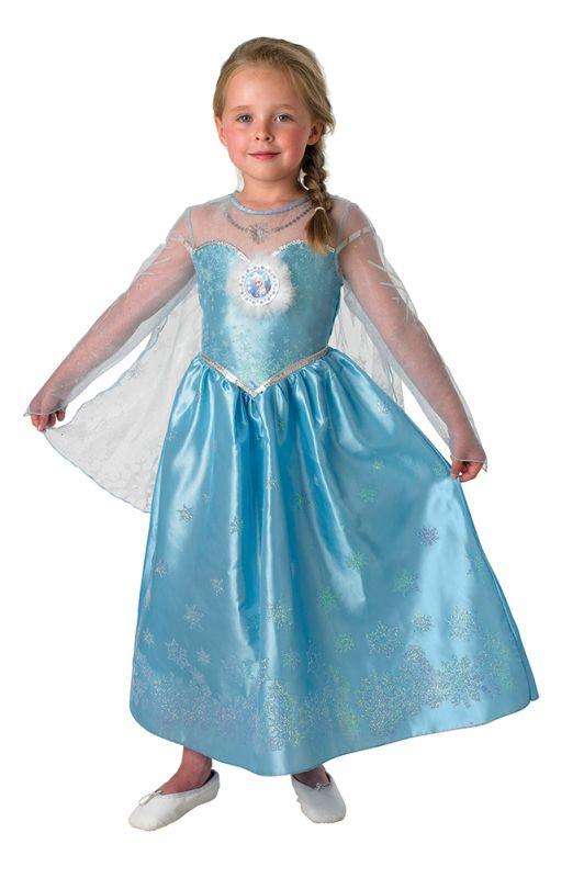 karnevalový kostým FROZEN - Ledové království Elsa Deluxe - v...