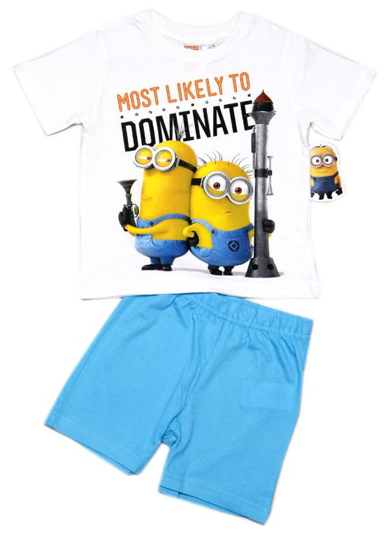 Chlapecké pyžamo s Mimoni