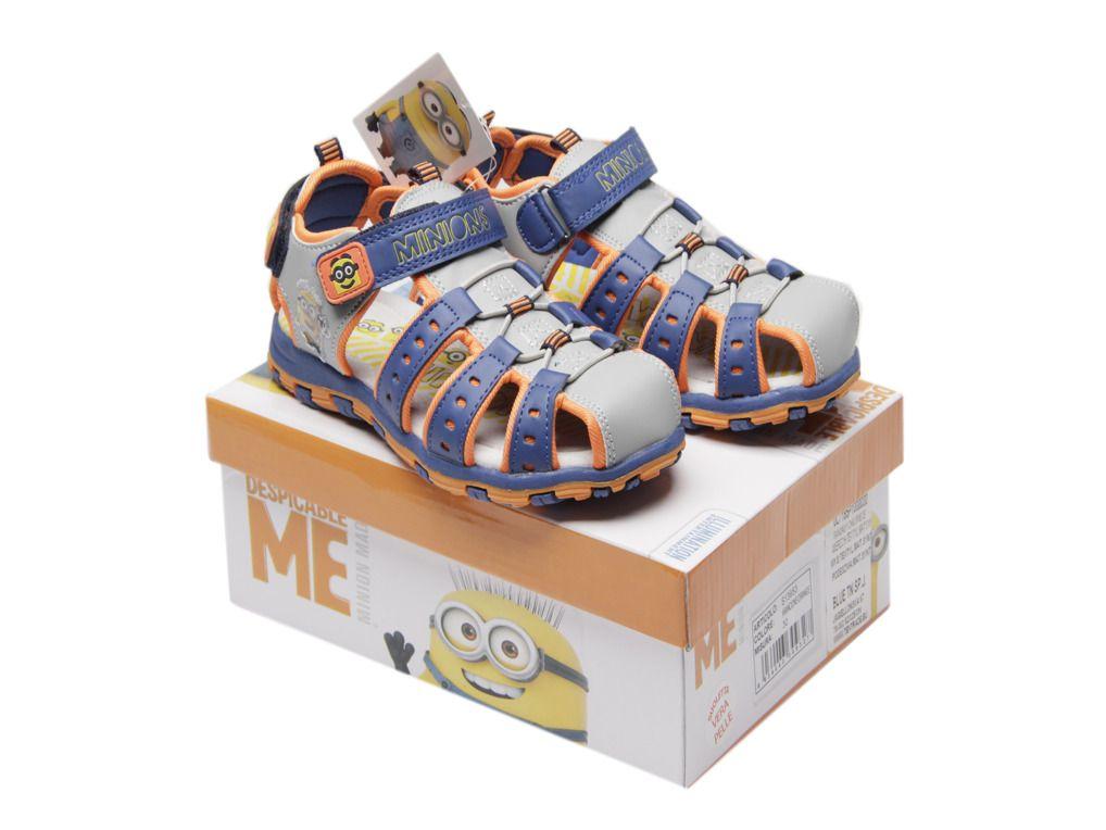Komfortní chlapecké sandály Mimoni / Já, padouch