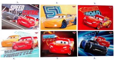 Pohlednice Cars / Auta / vecizfilmu