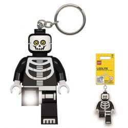 LED baterka na klíče Lego Kostlivec