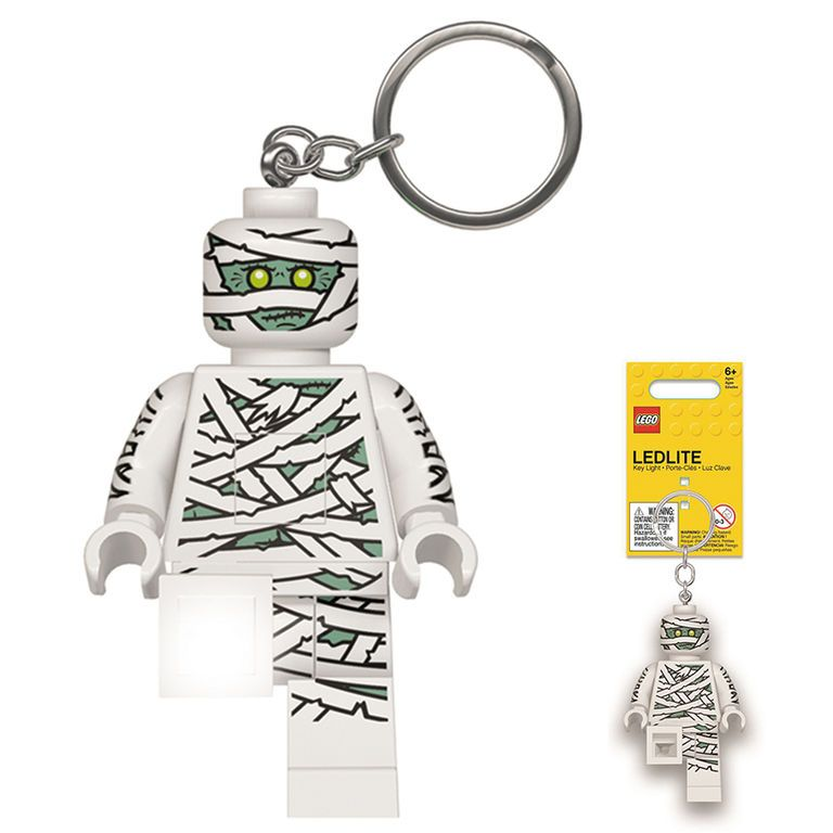 LED baterka na klíče Lego Mumie / vecizfilmu