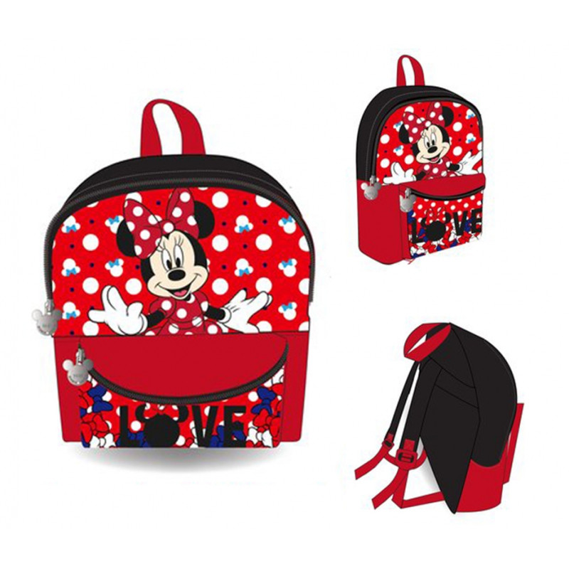 Batoh Minnie Mouse Red / vecizfilmu