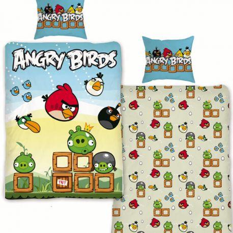Povlečení Angry Birds Game 140/200