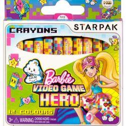 Voskovky Barbie 12 barev / vecizfilmu