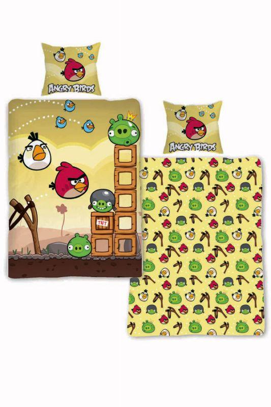 Povlečení Angry Birds  Bouře 140/200