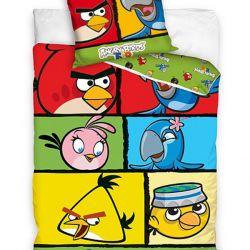Povlečení Angry Birds Rio Kostky 140/200