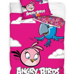 Povlečení Angry Birds Rio Stella A Perla 140/200