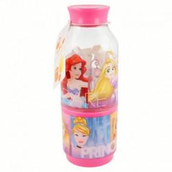 Láhev na vodu s kelímkem Princezny / Princess / vecizfilmu