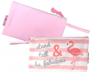 Kosmetická taštička / penál Plameňák / Flamingo