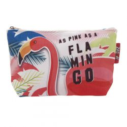 Kosmetická taštička Plameňák / Flamingo / vecizfilmu
