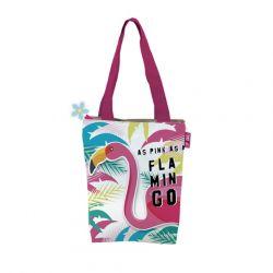 Nákupní taška Plameňák / Flamingo / vecizfilmu