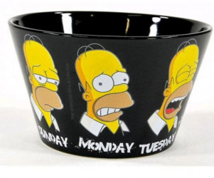 Keramická Miska Simpsnovi / The Simpsons Homer 500 Ml / THE LAST PERFECT MAN