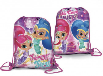 Pytlík / gym bag Shimmer and Shine / vecizfilmu